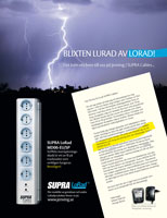 Lorad Mains Block with Surge Protection